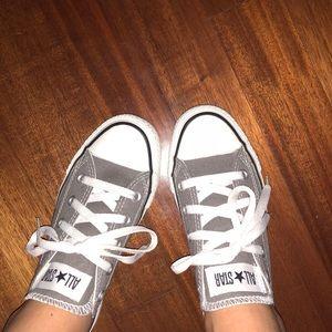 85701165b39b Gray Converse Chuck Taylor All Star Lo Sneaker